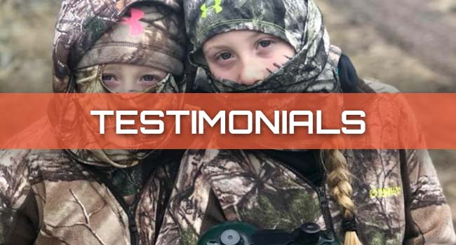 Arrow-Tek Outdoors Testimonials